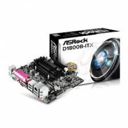 Placa Mae c/Processador Integrada suporta So-Dimm D1800B-ITX/M Asrock