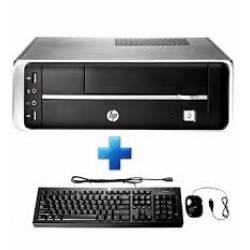Computador Cpu HP i3 Intel 4Gb/HD500Gb Free Dos c/Teclado e Mouse
