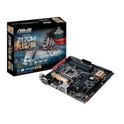 Placa Mae s1151 Asus Z170M-Plus DDR4 VGA, DVI Até 64Gb Lga1151 Asus