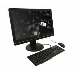 MicroComputador All In One N3 Intel Cel Dual Core 4gb/500gb Tela 21.5p c/Teclado 7027 e Mouse 10683 Bivolt