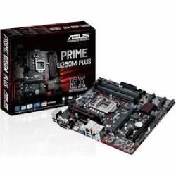 Placa Mae p/INTEL s1151 B250M-Plus/Br D3H DDR3 Asus Box