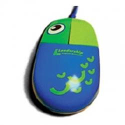 Mouse Ps2 Optico Mini Azul Ac Fish 7531***X