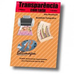 Papel A4 Transparente 1Folha c/Tarja
