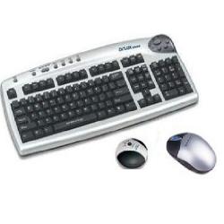Teclado e Mouse Optico s/Fio Ps2 0910X