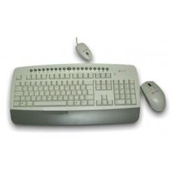 Teclado e Mouse Optico s/Fio Ps2 3250***X