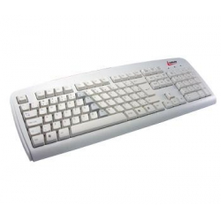 Teclado Ps2 Anti-Ler Branco 3830**X