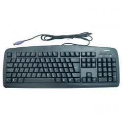Teclado Ps2 Anti-Ler Preto xLd3836