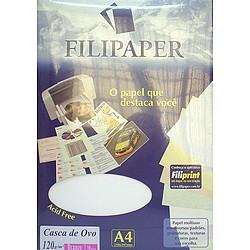Papel A4 180g 50fls Casca de Ovo Bco Filipape