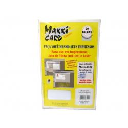 Papel A4 Cartão Bco Infantil V Modelo C Maxx x
