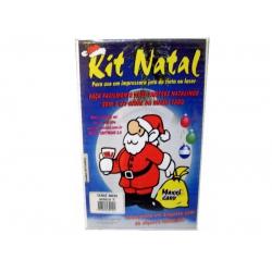 Papel A4 Cartão Verge Areia Mod e Kit Natal