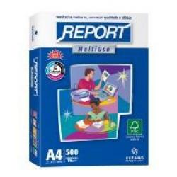 Papel A4 500fls 75g Bco Report