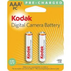 Pilha AAA Recarregavel 2uds 850mah Kodak
