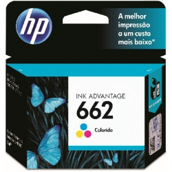 Cartucho HP. CZ104A 662C Color 2ml Original