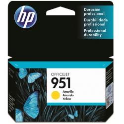 Cartucho HP CN052AL 951Am Amarelo 8ml Original L10