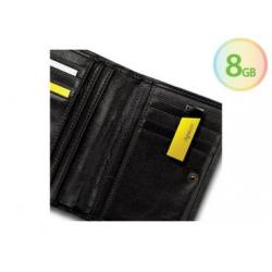 Pen-Drive 8gb USB 2.0 Amarelo/Pto Cq3023