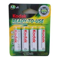 Pilha AA Recarregavel 4uds 2100mah Kodak