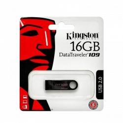 Pen-Drive 16gb Kingston Preto DT109