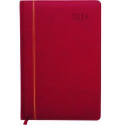 Agenda Pequena Anual 2015 Couro Sintetico Verm mpt320010006