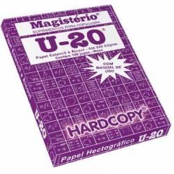 Papel Estencil Stencil U-20 Magistério