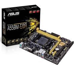 Placa Mãe p/AMD FM2 Asus A55BM-E c/VGA e HDMI Omb Box