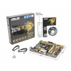 Placa Mãe p/INTEL s1150 Asus Z87M PLUS BOX