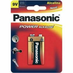 Bateria 9v Pilha Alcalina Panasonic