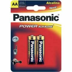 Pilha AA 2A Alcalina 2uds Panasonic