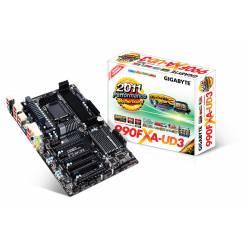 Placa Mãe p/AMD AM3+ GA-990FXA-UD3 GigaByte Box
