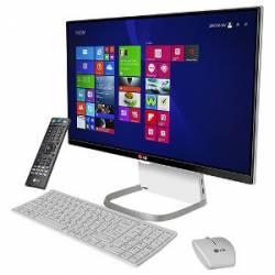 MicroComputador All-In-One LG 24V550 Intel i5 2.2Ghz/4gb/500Gb/Tela 23.8 c/HDMI,WIRELESS WEBCAM