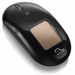Mouse Usb Optico s/Fio Laser Solar 2000Dpi Preto mLtMO199 Multilaser