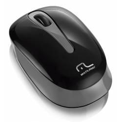 Mouse Usb Optico s/Fio p/ Tablet e PC 1200Dpi Preto/Cinza mLtMO200 Multilaser