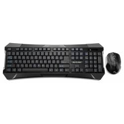 Teclado e Mouse Optico s/Fio Multimidia Gamer Keys mLtTC187 Multimidia