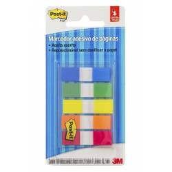 Bloco Tape Fita Neon Flags 5 Cores 3M