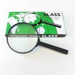 Lupa 75mm Preta Glass