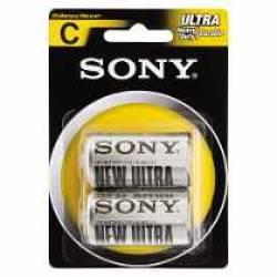 Pilha C Media Zinco 2uds Sony