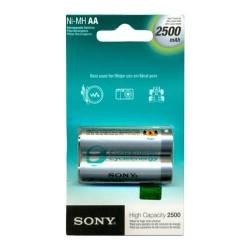 Pilha AA Recarregavel 2A c/2ud 2500mah Sony