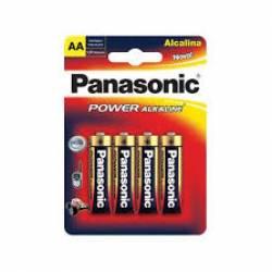 Pilha AA 4A Alcalina 4uds Panasonic
