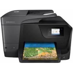Impressora HP Mult Officejet Pro 8710 Wi-fi Preta