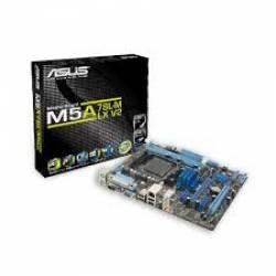 Placa Mãe p/AMD AM3+ Asus M5A78L-M LX/BR DD3 Omboard Box