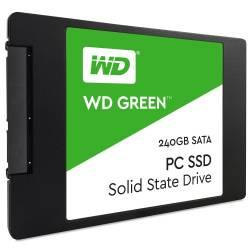 HD SSD 240gb WD Green 2.5´ 240GB SATA III 6Gb/s Leituras: 540MB/s e Gravações: 465MB/s - WDS240G1G0A