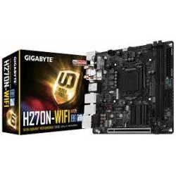 Placa Mae p/INTEL s1151 GA-H270N WIFI GigaByte Box