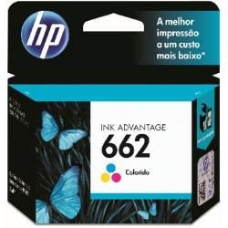 Cartucho HP CZ104A 662C Color 2ml Original