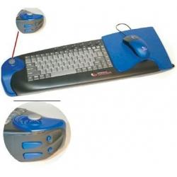 Teclado e Mouse Optico Usb + Joystic 6701X