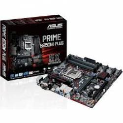 Placa Mae p/INTEL s1151 B250M-Plus/Br DDR4 Asus Box