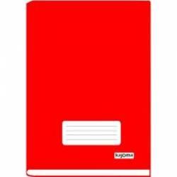 Caderno 1/4 Brochura 96fls CD Off Vermelho