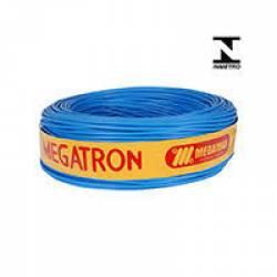 Cabo de Força Rigido 1.0Metro 4,0mm Azul Megatron