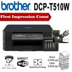 Impressora Brother Mult DCP-T510W Wifi Tanque Tinta