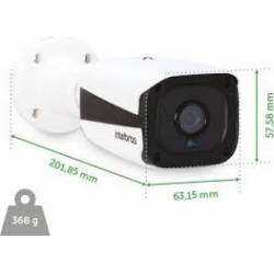 Camera p/CFTV c/Infra IP Mini VIP 1120 B G2 Intelbras