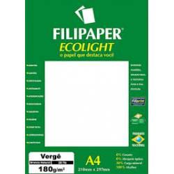 Papel A4 180g 20fls Verge Ecolight Filipaper