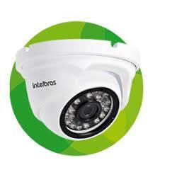 Camera p/CFTV c/Infra  IP VIP 1020 D Dome